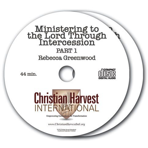 Ministering to the Lord through Intercession 2 CD Set