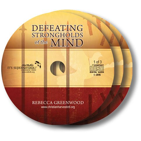 Defeating Strongholds of the Mind Audio Teaching 3 CD Set